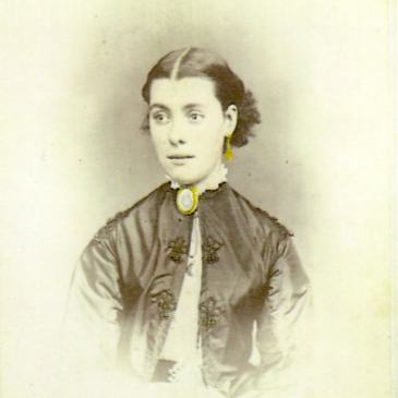 Elizabeth Rachel Day, photo by Nevin & Smith, Hobart 1868