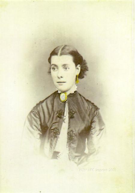 Elizabeth Rachel Day 1868 by Thomas J. Nevin Tasmania