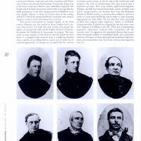 The Australian People: six prisoner cdv's by T. J. Nevin