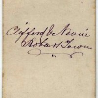 Signatures and handwriting 1870s