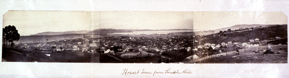 View of Hobart from Lime Kiln Hill