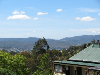 The Derwent from 270 Lenah Valley Rd, Hobart, Tasmania