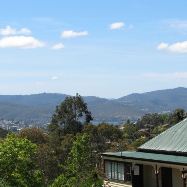 The Derwent from 270 Lenah Valley Rd, Hobart, Tasmania