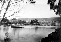 Schooner Harriett at Port Arthur