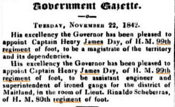 Captain Henry JamesDay of the 99th Regiment (6/6)