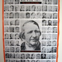 Poster of Thomas Nevin's convict portraits 1870s