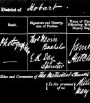 July 12, 1871, Nevin-Day marriage registration