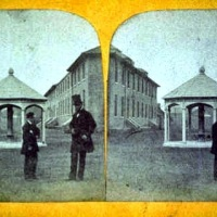 Melville Street from the Hobart Gaol 140 years ago