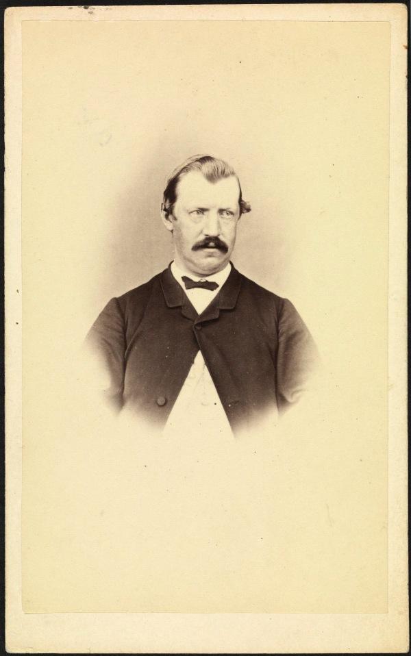 W R Giblin by T J Nevin ca 1874