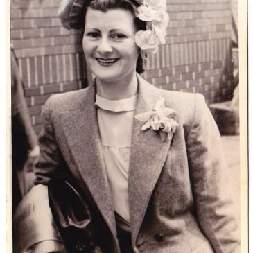 Eva Morris nee Nevin 1938