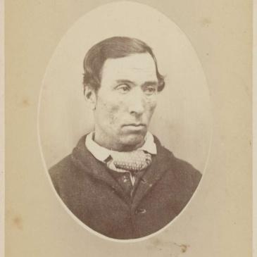 Prisoner James Foley, photo by T. J. Nevin 1874