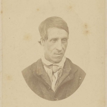 Prisoner James Jones, photo by T. Nevin 1875