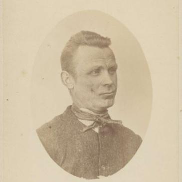 Prisoner George Ediker 1874