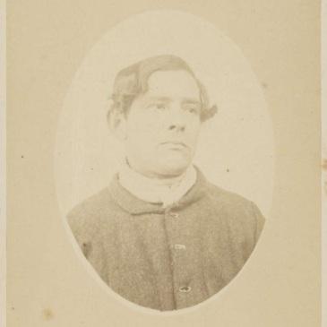 Prisoner Charles Brown or William Forster 1874