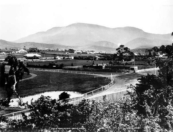 Race track, Bell St. New Town Tasmania