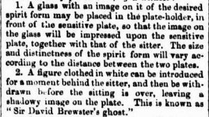 Brewster's ghost