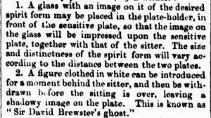 Brewster's ghost