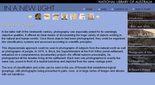 Webshot In A New Light NLA exhibition