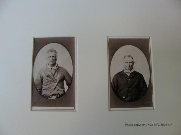 Tasmanian prisoner mugshots by Nevin 1870s
