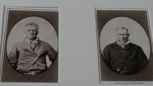 Tasmanian prisoner mugshots by Nevin 1870s-80s