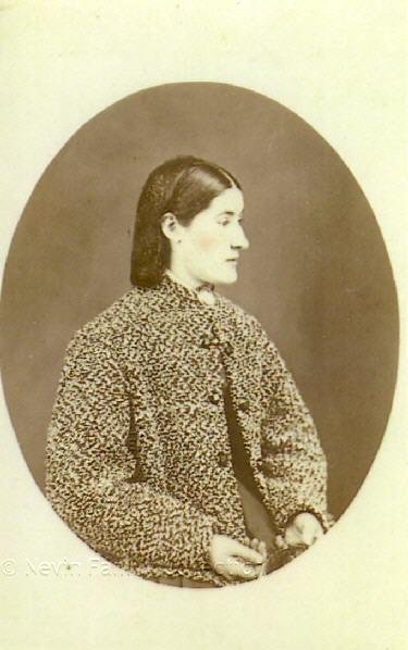 Mary Ann Nevin, sister of Thomas Nevin