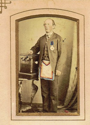Freemason 1870s by Nevin
