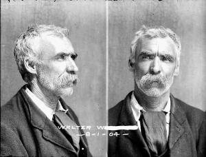Tasmanian prisoner mugshots ca. 1900s