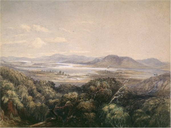 view from Ancanthe 1858