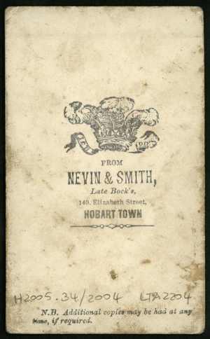 Nevin & Smith verso 1868