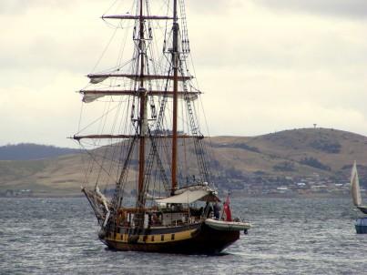 Windeward Bound on Derwent