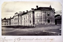 Parliament House Hobart 1873