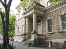 Hobart Town Hall, Tasmania, erected 1864
