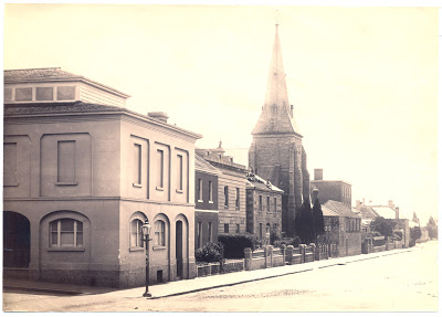 Odd Fellows Hall Hobart Tasmania 1870s