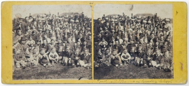 Bothwell school children attrib. S. Clifford