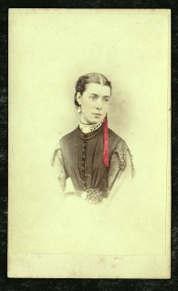 Elizabeth Rachel Nevin photo by T. Nevin 1871