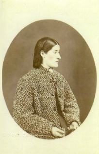 Thomas Nevin's portrait of his sister ca. 1873