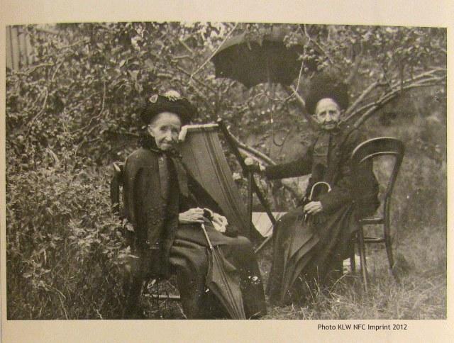 Martha Nevin nee Genge and Mary Genge ca 1920