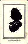 Betty's scissor cut silhouette by S. John Ross 1948