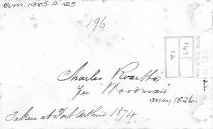 Rosetta, Charles at QVMAG