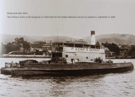SS ferry Kangaroo built by Captain Edward Goldsmith 1854
