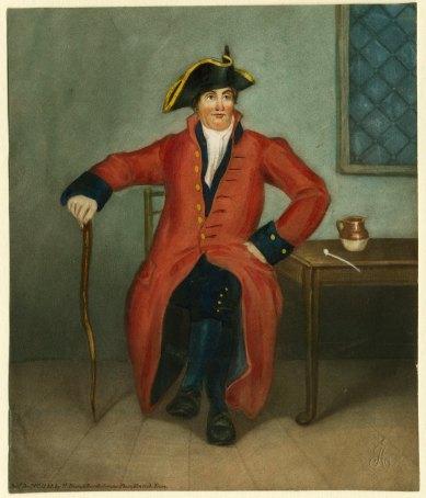 Chelsea pensioner, 1834