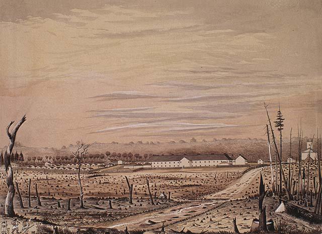 Barracks at London, Canada West May 1842