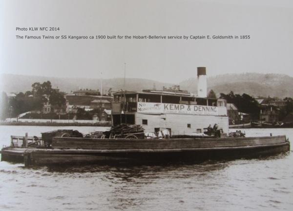 SS ferry Kangaroo ca1900