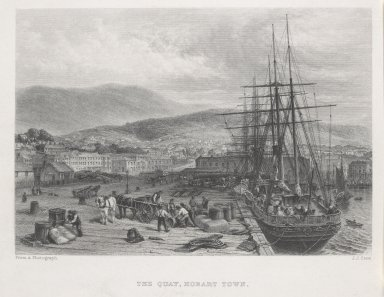 The Quay Hobart Town JJ Crew 1874
