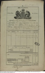 John Nevin (1808-1887) service record  Royal Scots 1825-41
