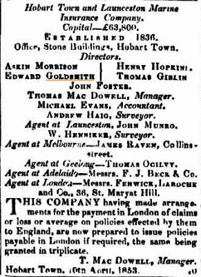 goldsmith col times 8 june 1855