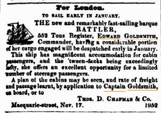 goldsmith rattler 5 dec 1846