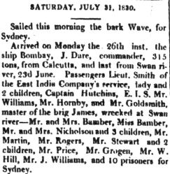 goldsmith courier 31july 1830