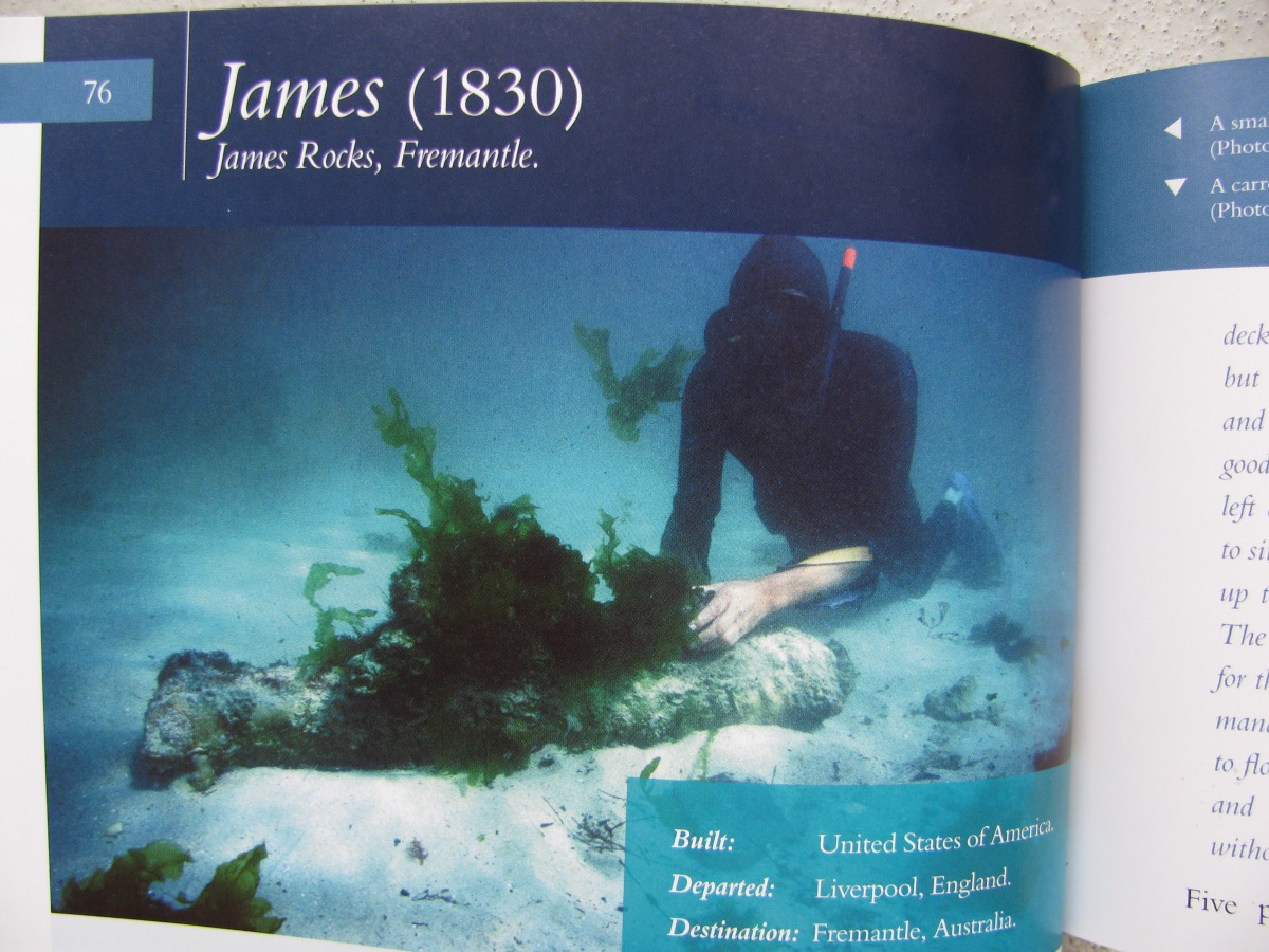 Captain Edward Goldsmith and the wreck of the James 1830