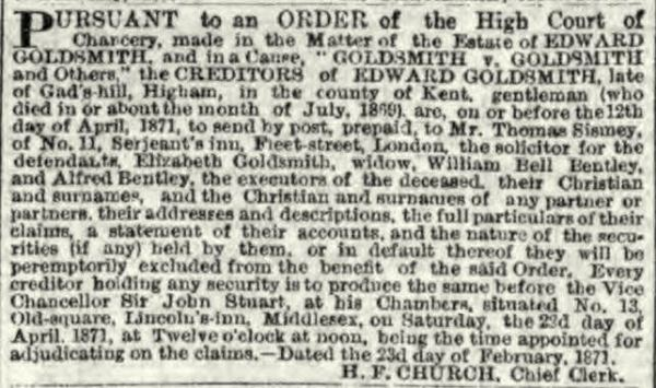 goldsmithvgoldsmith3june1871ed